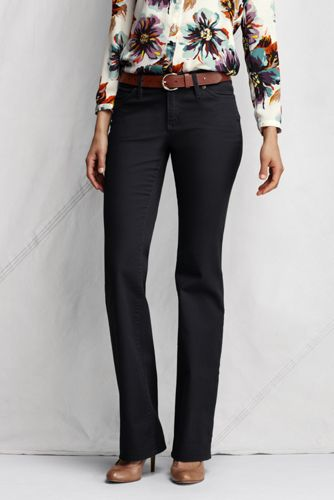 Women's Regular Stretch Bootcut Coloured Jeans