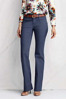Women's Stretch Bootcut Coloured Jeans