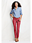 Women's Regular Coloured Slim Ankle-Length Twill Jeans