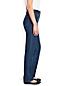 Women's Regular Medium Indigo Wash High Rise Straight Leg Jeans