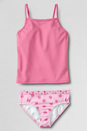 Girls' Large Dot Tankini Bottom Set
