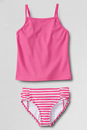 Girls' Stripe Tankini Bottom Set