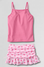 Girls' Large Dot Swim Mini Set