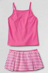 Girls' Stripe Swim Mini Set