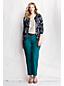 Knöchellange Twillhose im 5-Pocket-Stil für Damen in Plusgröße