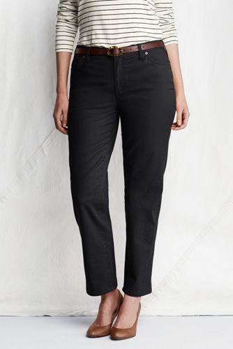 Le Pantalon Slim Stretch Cheville Femme, Grande Taille