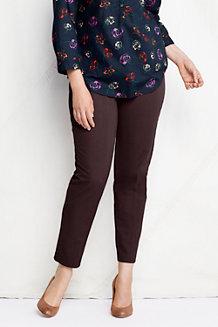 Le Pantalon Twill Zip Latéral Coupe 2 Femme