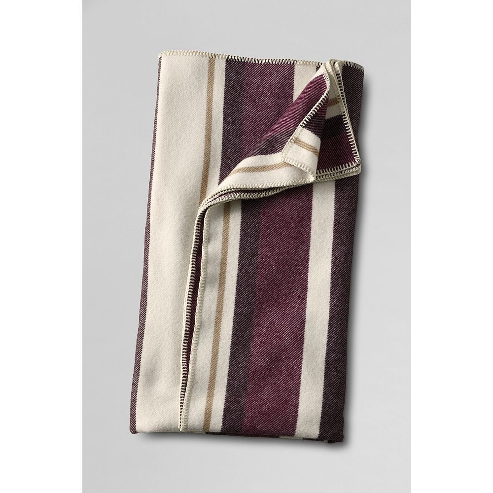 Lands' End Pendleton Multi Stripe Blanket at Sears.com