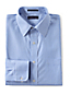 Men's Regular Patterned Slim Fit Easy-iron Straight Collar Pinpoint Shirt