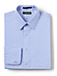 Men's Regular Slim Fit Easy-iron Straight Collar Pinpoint Shirt
