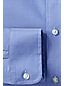 Men's Regular Slim Fit Easy-iron Spread Collar Pinpoint Shirt