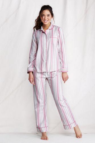 pas mal 93117 5119f Le Haut de Pyjama en Flanelle à Motifs Femme | Lands' End