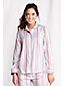 Women's Regular Patterned Flannel PJ Top
