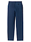 Women's Starfish Jean-style Refined Stretch Indigo Jersey Straight-leg Trousers