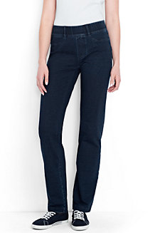 Women's Starfish Jean-style Refined Stretch Indigo Jersey Trousers