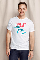 Men's Graphic Great Lakes Tee