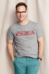 Men's Wisconsin Graphic Tee
