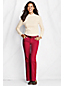 Women's Plus Patterned Relaxed Polo Neck