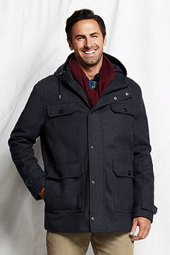 Stylish Wool Parka 436139