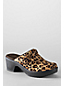 Women's Regular Carly Leopard Print Clogs