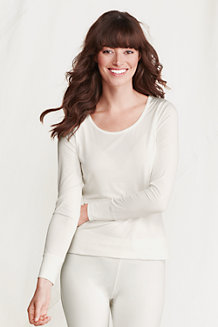 Women's Thermaskin Heat Long Sleeve Scoop Neck Top