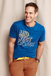 Men's Mid West Coast Graphic Tee