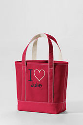 Medium Color I Heart Open Top Totes