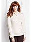 Women's Plus Long Sleeve Ruffle Pima Polo