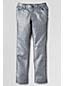 Little Girls' Pencil Leg Silver Metallic Jeans