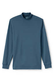 Men's Super Soft Supima Mock Turtleneck