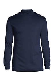 Men's Big and Tall Super Soft Supima Mock Turtleneck