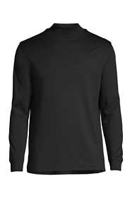 Men's Tall Super Soft Supima Mock Turtleneck