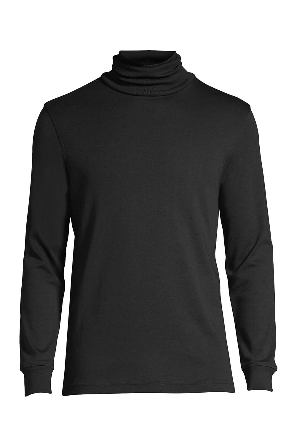 6db652d305 Men s Supima Interlock Turtleneck from Lands  End