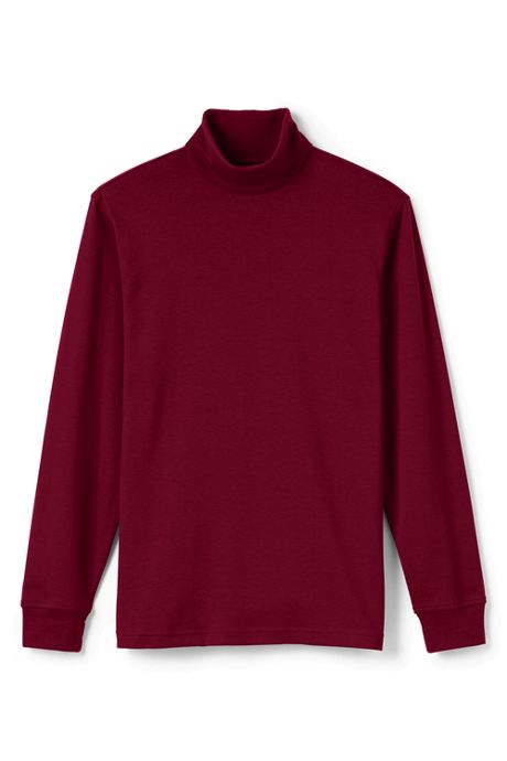Men's Tall Supima Interlock Turtleneck