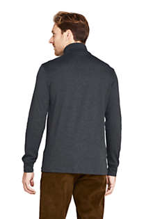 Men's Super Soft Supima Turtleneck, Back