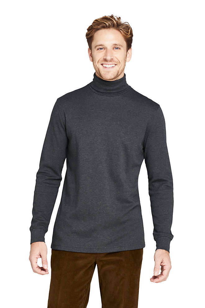 Men's Super Soft Supima Turtleneck, Front