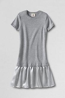 Strick-Duettkleid für Mädchen