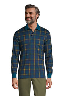 Men's Supima Jacquard Polo Shirt