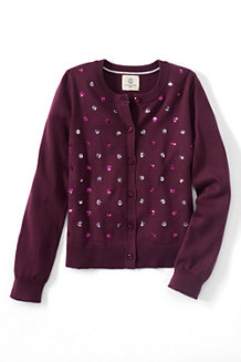 Girls' Sparkle Sophie Cardigan
