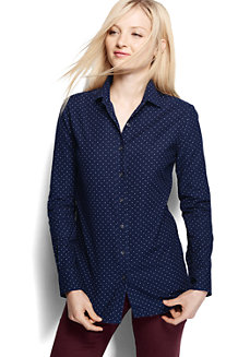 Women's Patterned Cord Shirt