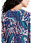 Women's Regular Patterned Tie-front Tunic