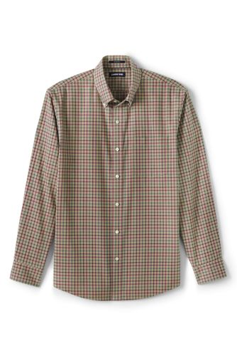 Men's Tailored Fit No Iron Twill Shirt
