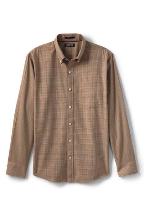Men's Traditional Fit No Iron Twill Shirt
