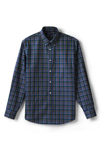 Men's Regular Traditional Fit Easy-iron Twill Shirt