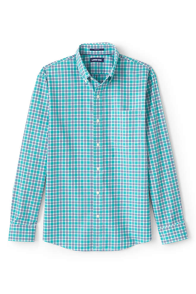 Men's Big & Tall Traditional Fit No Iron Twill Shirt, alternative image