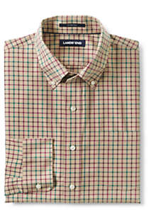 Men's Traditional Fit No Iron Twill Shirt, Front