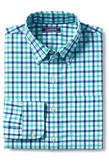 Men's Traditional Fit Easy-iron Twill Shirt