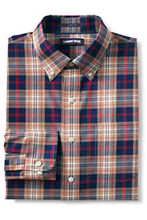 Men's Tall Traditional Fit No Iron Twill Shirt, Front