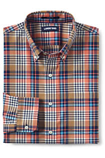Men's Big & Tall Traditional Fit No Iron Twill Shirt, Front