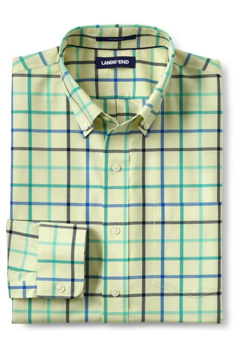 Men's Tall Tailored Fit No Iron Twill Shirt